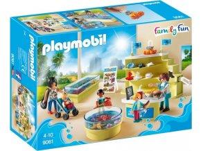 PLAYMOBIL® 9061 Mořský obchod pro akvaristy