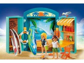 PLAYMOBIL® 5641 Přenosný kufřík Plážový obchod