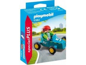 PLAYMOBIL® 5382 Chlapec s motokárou