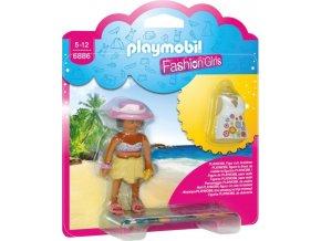 PLAYMOBIL® 6886 Módní dívka - Pláž