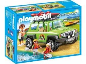 PLAYMOBIL® 6889 SUV 4x4 s kanoí
