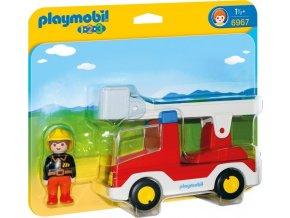 PLAYMOBIL® 6967 Hasičské auto (1.2.3)