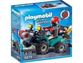 PLAYMOBIL® 6879 Čtyřkolka s navijákem