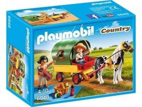 PLAYMOBIL® 6948 Výlet s poníkem a vozem
