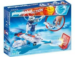 PLAYMOBIL® 6833 Icebot s létajícími disky