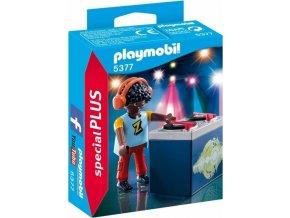"""PLAYMOBIL® 5377 DJ """"Z"""" s mixážním pultem"""
