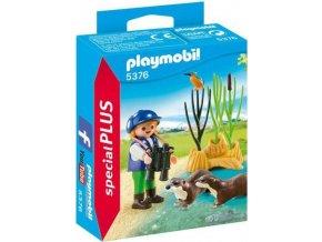 PLAYMOBIL® 5376 Přírodovědec s vydrami