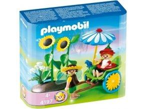 PLAYMOBIL 4197 Rikša pro květinové víly