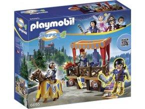 PLAYMOBIL® 6695 Královská tribuna s rytířem Alexem