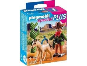 PLAYMOBIL® 5373 Kovboj s hříbětem