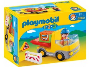 PLAYMOBIL® 6960 Sklápěčka (1.2.3)