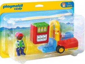PLAYMOBIL® 6959 Vysokozdvižný vozík (1.2.3)