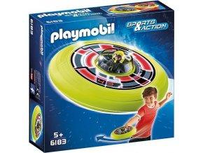 PLAYMOBIL® 6183 Super létající talíř s astronautem