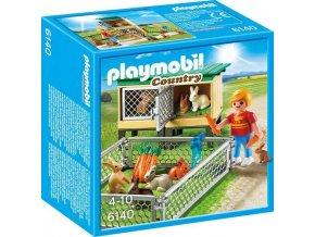 PLAYMOBIL® 6140 Králíkárna s výběhem