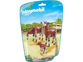 PLAYMOBIL® 6643 Okapi s mládětem