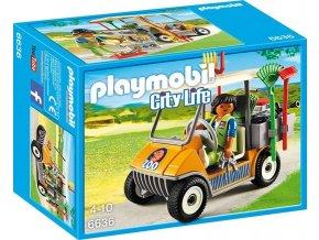 PLAYMOBIL® 6636 Vozidlo správce ZOO