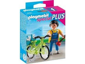 PLAYMOBIL 4791 Řemeslník na kole