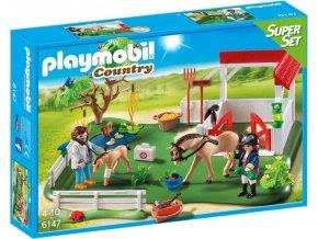 PLAYMOBIL® 6147 Výběh pro koně, SuperSet