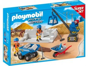 PLAYMOBIL® 6144 Staveniště, SuperSet