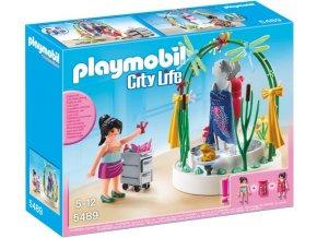 PLAYMOBIL 5489 City Life Dekorace výlohy (Aranžérka)
