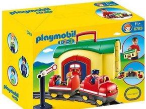 PLAYMOBIL® 6783 Můj přenosný vláček (1.2.3)