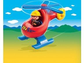 PLAYMOBIL® 6789 Hasičský vrtulník (1.2.3)