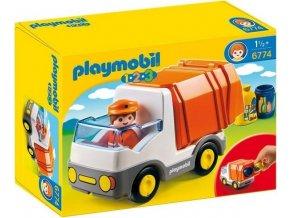 PLAYMOBIL® 6774 Popelářský vůz (1.2.3)