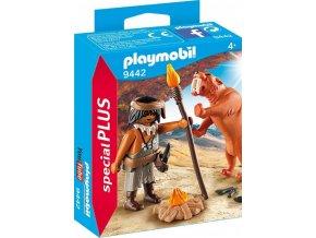 PLAYMOBIL® 9442 Neandrtálec a šavlozubý tygr