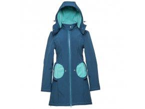 LLPT767 liliputi mama kabat tehotensky nosici kabat nosici bunda azure turquoise