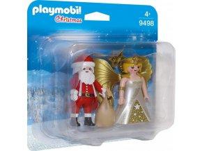 PLAYMOBIL® 9498 Anděl a Santa Claus