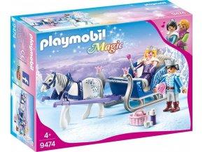 PLAYMOBIL® 9474 Královský pár na saních
