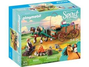 PLAYMOBIL® 9477 Otec Jim a koňský povoz