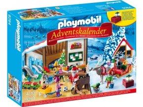 PLAYMOBIL 9264 Adventní kalendář Santova dílna