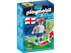 PLAYMOBIL® 6898 Fotbalista Anglie