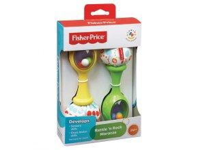 fisher price prvni nastroje detske rumba chrastitko a096186