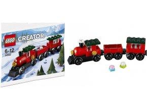 LEGO Creator 30543 Vánoční vláček