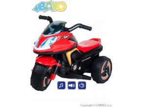 Elektrická motorka BAYO KICK red červená