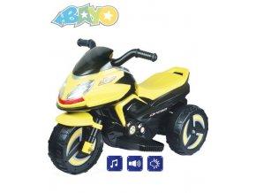 elektricka motorka bayo zluta