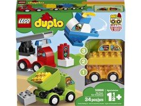 LEGO DUPLO 10886 Moje první vozidla