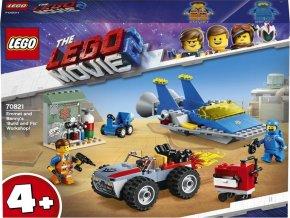 "LEGO Movie2  70821 Emmetova a Bennyho dílna ""Postav a oprav to""!"