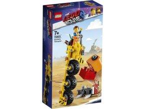 LEGO Movie2  70823 Emmetova tříkolka!