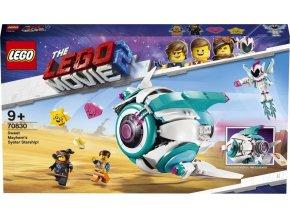 LEGO Movie2  70830 Kosmická loď Systargenerálky Mely!