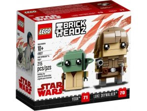 LEGO BrickHeadz 41627 Luke Skywalker a Yoda
