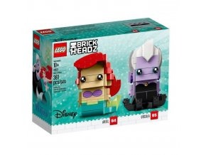 lego 41623 brickheadz ariel and ursula