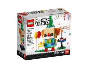 lego 40348 brickheadz birthday clown