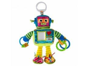 lamaze robot karlik rusty the robot plysova hracka na zaveseni