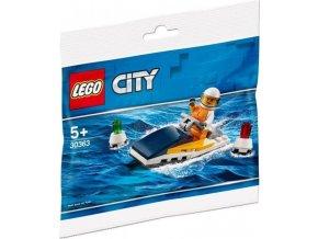 LEGO City 30363 Závodní člun