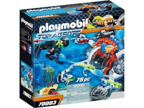 PLAYMOBIL® 70003 Spy Team Mini ponorka