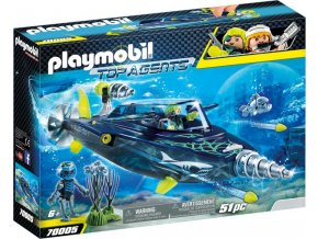 PLAYMOBIL® 70005 Team S.H.A.R.K. Drill Destroyer