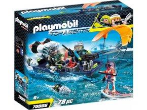 PLAYMOBIL® 70006 Team S.H.A.R.K. Člun s harpunou